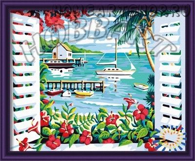 """Картина по номерам """"Отпуск в раю"""""""