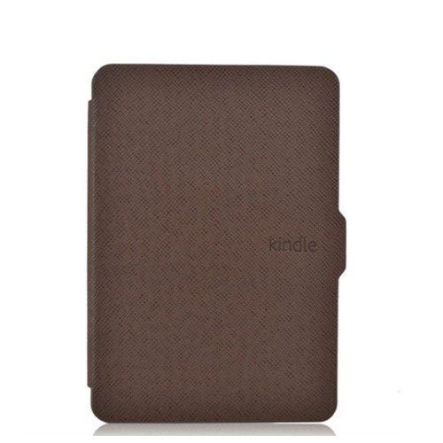 Чехол-обложка для Amazon Kindle Paperwhite Коричневая (с магнитной застежкой)