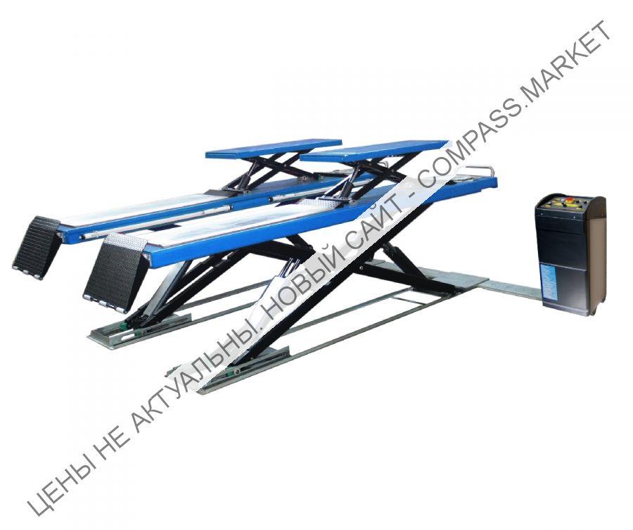Подъемник ножничный, г/п 3600 кг., платформы гладкие.Werther-OMA (Италия)