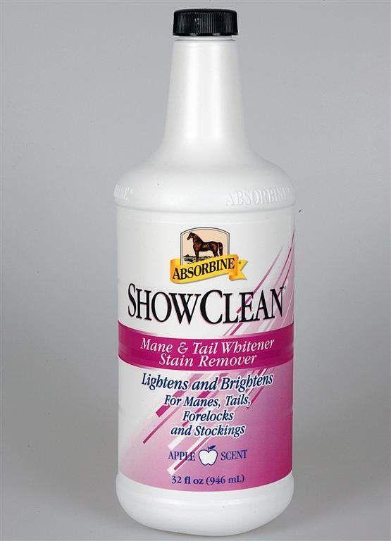 Absorbine ShowClean, отбеливающий шампунь для любой масти