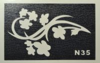 Трафареты для боди-арта, био-тату  N35