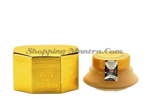 Тональный крем с 24к золотом Шахназ Хусейн (Shahnaz Husain Pot Of Gold Foundation)