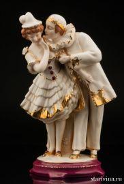 Пьеро и Коломбина, Royal Dux, Богемия