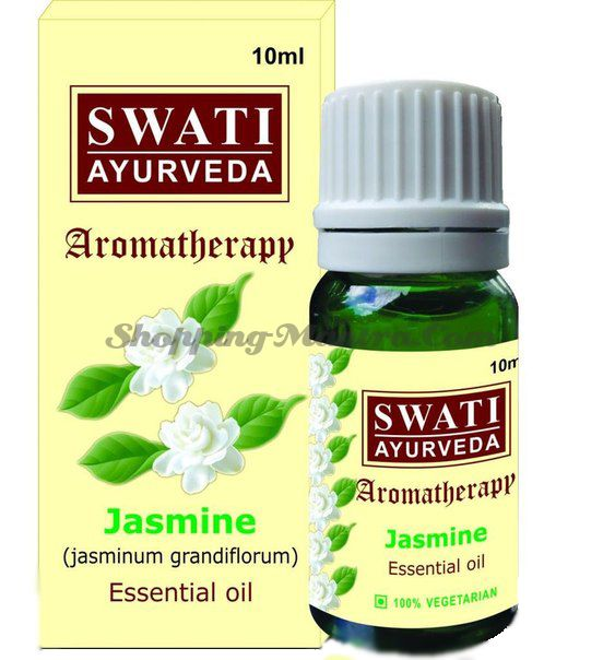 Эфирное масло Жасмин Свати Аюрведа / Swati Ayurveda Jasmine Essential Oil