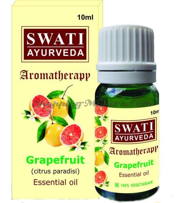 Натуральное эфирное масло Грейпфрута Свати Аюрведа / Swati Ayurveda Essential Oil Grapefruit