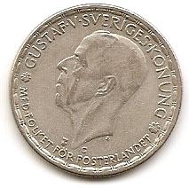 1 крона Швеция 1943
