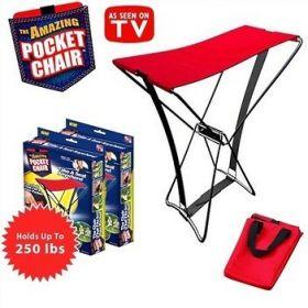 Компактный складной стул