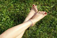 Ножные браслеты из серебра