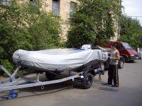 Тент стояночный (транспортировочный) на надувную лодку ПВХ