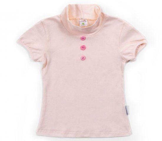Светло-розовая блузка для девочки Крокид