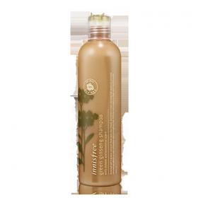 INNISFREE GREEN GINSENG SHAMPOO 320ml - шампунь с экстрактом женьшеня против выпадения волос