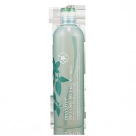 INNISFREE MINT GREEN TEA FRESH SHAMPOO 320ml - освежающий шампунь для жирных волос с мятой и зеленым чаем