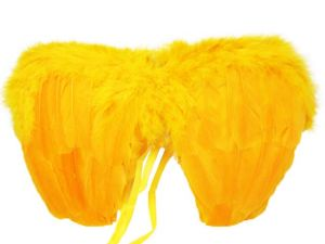 Крылья перьевые (малые, оранжевые)