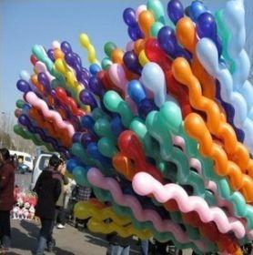 Спиральные воздушные шарики