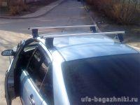 Багажник на крышу Ford Focus, Атлант, прямоугольные дуги