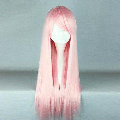 Парик светло-розовый принцесса Лолита