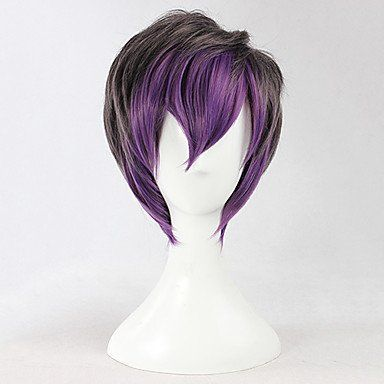 Черный короткий с фиолетовым Лолита