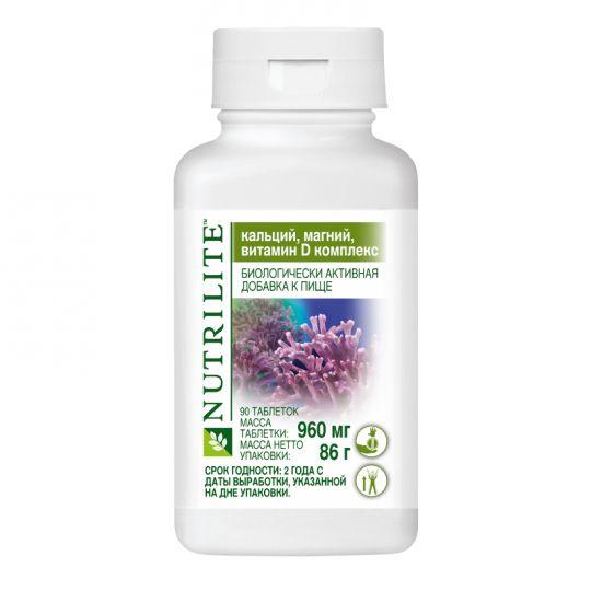NUTRILITE Кальций, магний, витамин D комплекс