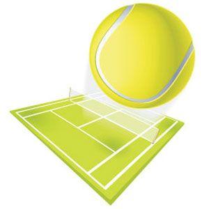 Теннисные мячи, ракетки