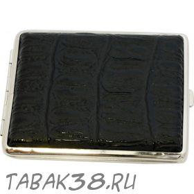 Портсигар S.Quire 05 кожа черный