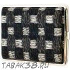 Портсигар S.Quire 3156А кожа черный
