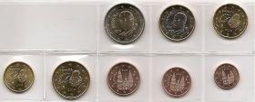 Годовой евро набор Испания  2014 UNC