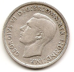 1 флорин Австралия  1944 S Распродажа!