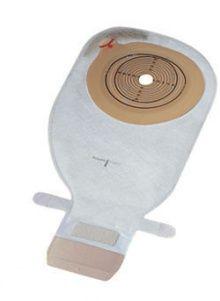 13870 Coloplast Alterna Free  калоприемник дренируемый однокомпонентный, со встроенной конвексной пластиной,  вырезаемое отверстие 12-75мм