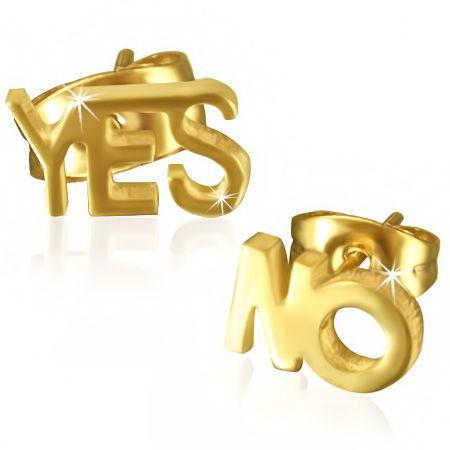 Серьги Yes No