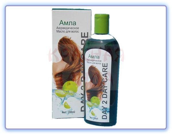 Аюрведическое масло для волос Day 2 Day Амла