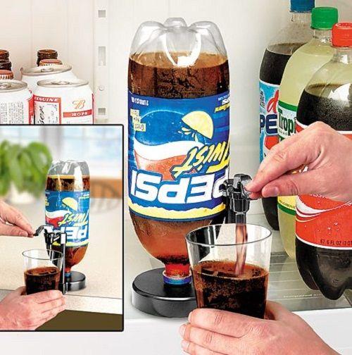 Диспенсер для напитков Fizz Saver всегда свежее газированное пиво и напитки