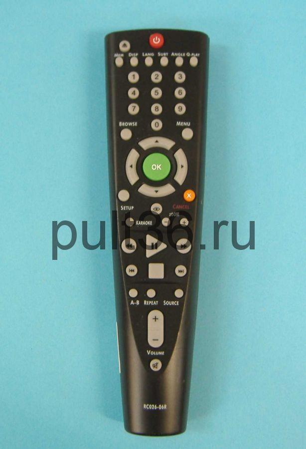 Пульт ДУ BBK RC-026-06R