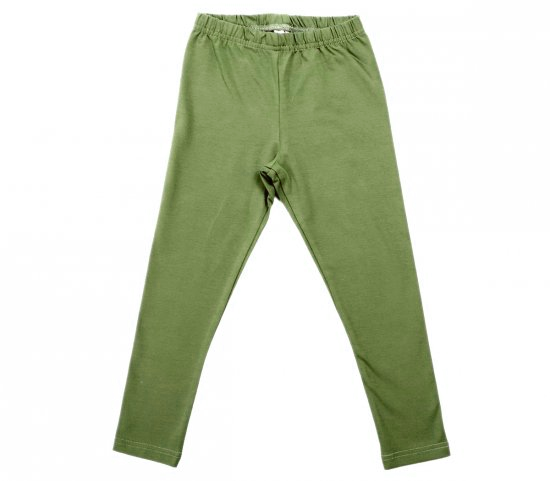 Бриджи для девочки темно-зеленые