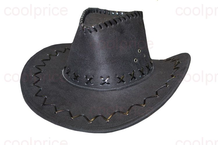 Ковбойская шляпа, чёрная