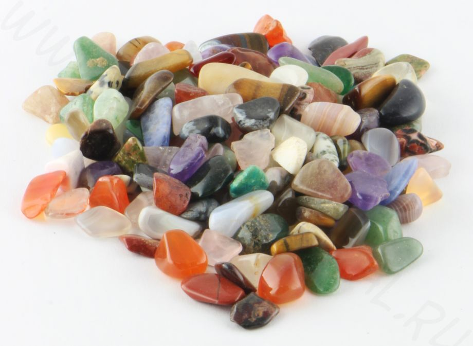 Мелкая галька  - Микс минералов