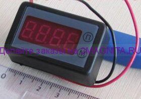 Счетчик моточасов - вольтметр  СМВ-036-4-а