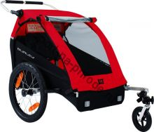 Велоприцеп для перевозки 1-2 детей Burley HONEY BEE