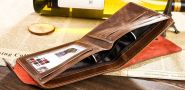 Мужской бумажник, портмоне  Bailini