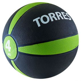 Медбол (медицинбол) Torres 4 кг.