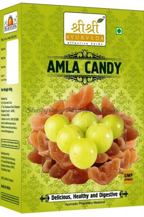 Амла сладкая аюрведические конфетки Шри Шри Аюрведа (Sri Sri Ayurveda Amla Candy)