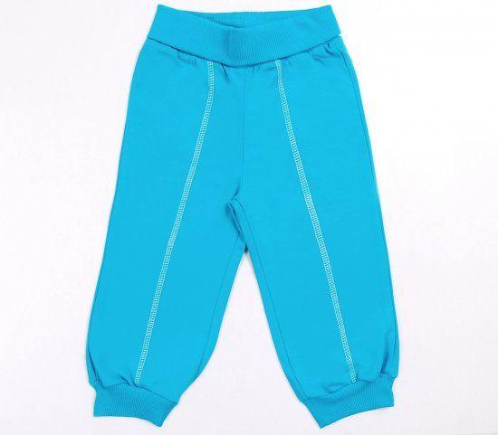 Бирюзовые штанишки для девочки