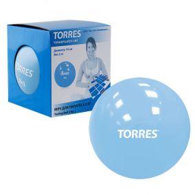Мяч для пилатеса Torres 2кг.