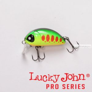 Воблер  LJ Pro Series HAIRA TINY 44F 4,4 см / 7 гр / цвет 201 / до 0,3 м Shallow Pilot