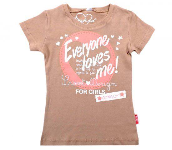 Блуза для девочки С любовью