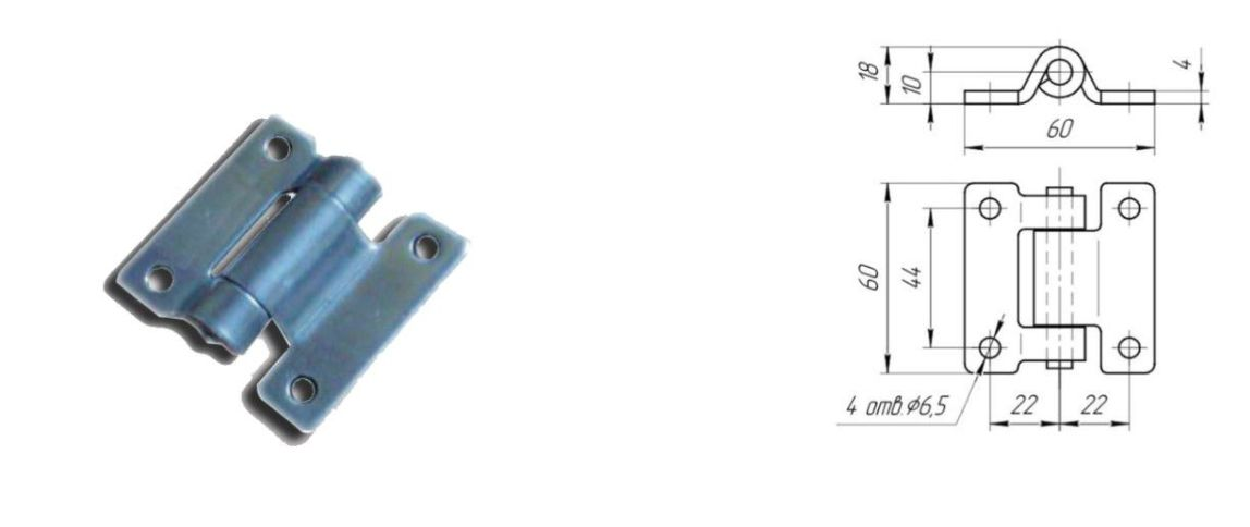 Петля 30 мм SS (Арт: 41331)