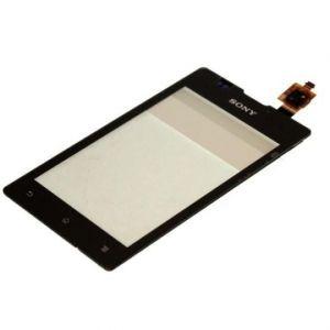 Тачскрин Sony C1505 Xperia E/C1605 Xperia E Dual (black) Оригинал
