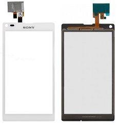 Тачскрин Sony C2104 (S36)/C2105 (S36h) Xperia L (white) Оригинал