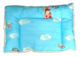 Подушка детская из овечьей шерсти Двухкамерная