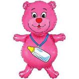 Медвежонок с бутылочкой