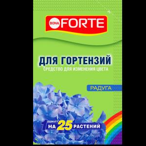 """Порошок для изменения цвета гортензий """"Bona Forte"""" Радуга 100г"""